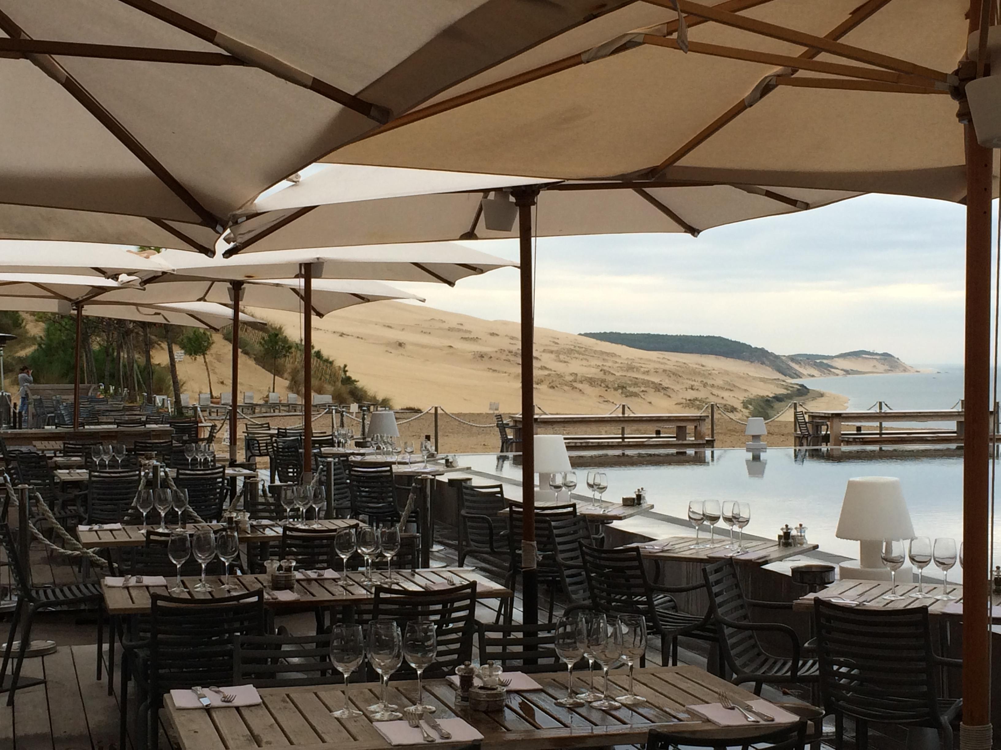 La co o rniche bordeaux eat trotter - Hotel starck arcachon ...